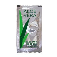 Amenities para Hotel Sachet Gel Aloe Vera